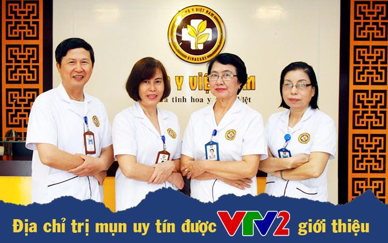 Trung tâm Da liễu Đông y Việt Nam được VTV2 giới thiệu là địa chỉ chữa mụn trứng cá hiệu quả