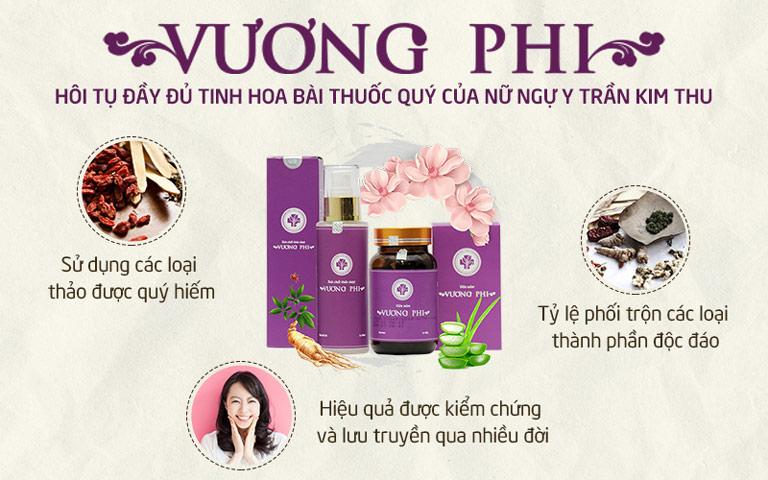Vương Phi kế thừa công thức bài thuốc YHCT và thành tựu công nghệ hiện đại