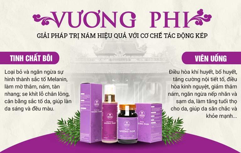 Công dụng nổi bật của hai chế phẩm từ Bộ sản phẩm Vương Phi