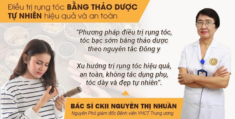 """Trung tâm Da liễu Đông y Việt Nam - Địa chỉ """"vàng"""" cho người rụng tóc, tóc bạc sớm"""