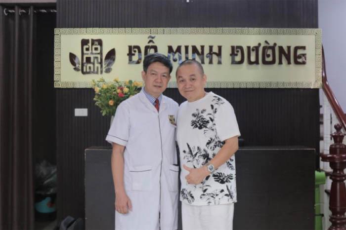Nghệ sĩ Xuân Hinh chữa thoái hóa cột sống cổ tại nhà thuốc Đỗ Minh Đường do đây là  cơ sở uy tín, đã được cấp phép hoạt động