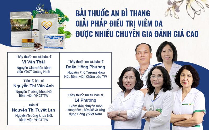 Các chuyên gia Da liễu đánh giá cao thành phần, công dụng và cơ chế điều trị đặc biệt của An Bì Thang