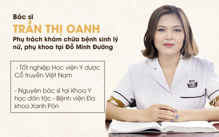 Bác sĩ Trần Thị Oanh của Đỗ Minh Đường