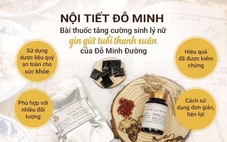 Bài thuốc bổ sung nội tiết tố nữ Đỗ Minh Đường