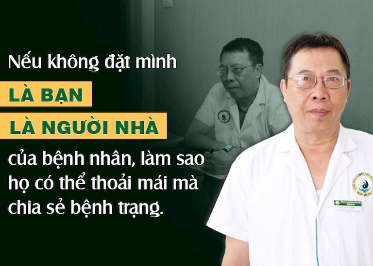 Chia sẻ của bác sĩ Lê Hữu Tuấn