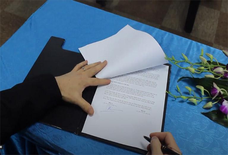 Thỏa thuận đặt mục tiêu phát triển toàn diện Vietfarm trong tương lai