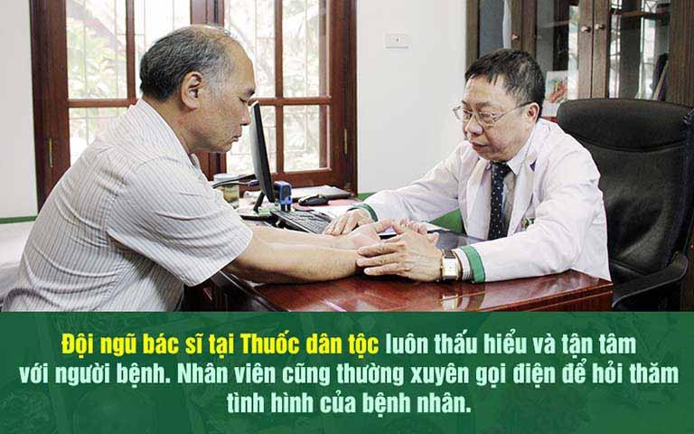 Nghệ sĩ Bình Xuyên hài lòng về chất lượng điều trị tại Thuốc dân tộc