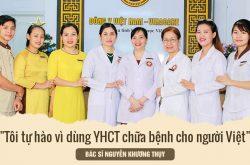 Bác sĩ Nguyễn Khương Thụy tự hào khi dùng Đông y chữa bệnh cho người Việt