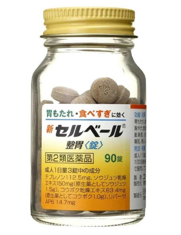 Thuốc Sebuberu Eisai của Nhật có tác dụng tiêu diệt vi khuẩn HP