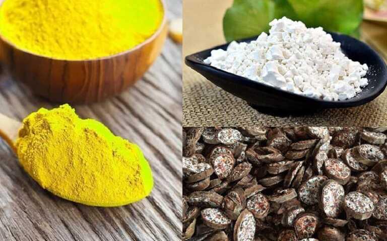 Kết hợp bột nghệ, bột chuối xanh và bột sắn dây sẽ tăng khả năng khỏi bệnh