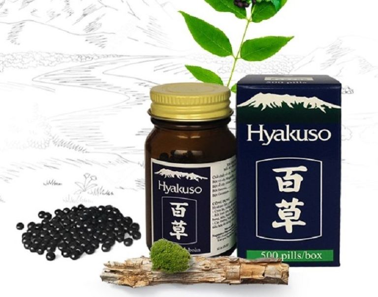 Thuốc đại tràng của Nhật Hyakuso có chứa nhiều loại thảo dược tốt cho hệ tiêu hóa