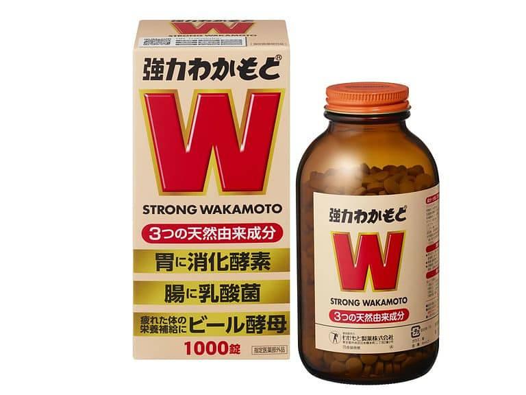 Thuốc chữa viêm dạ dày HP của Nhật Strong Wakamoto