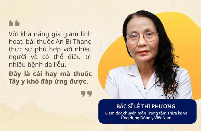 Thầy thuốc ưu tú, bác sĩ Lê Phương là một trong những chuyên gia hàng đầu về YHCT tại Việt Nam
