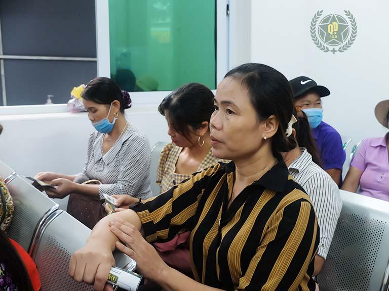 Các bậc phụ huynh thực tế đánh giá cao hiệu quả điều trị mề đay cho trẻ tại Quân dân 102