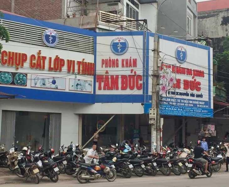 Phòng khám đa khoa Tâm Đức Lục Nam Bắc Giang