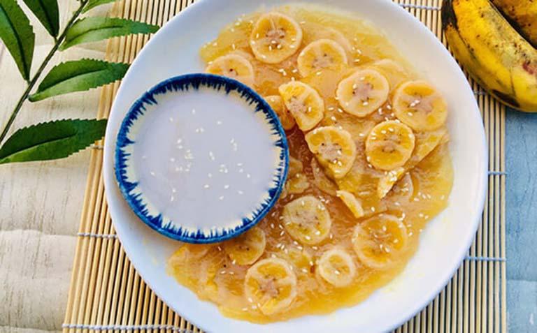 Món bánh chuối hấp phù hợp với người bị đau dạ dày cũng vô cùng thơm ngon và không bị quá nhiều dầu mỡ