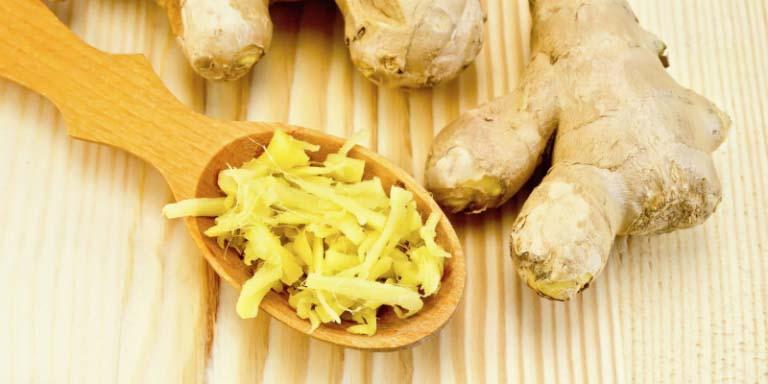 Không chỉ gạo nếp mà gừng cũng là thực phẩm rất tốt cho sức khỏe của người bị đau dạ dày