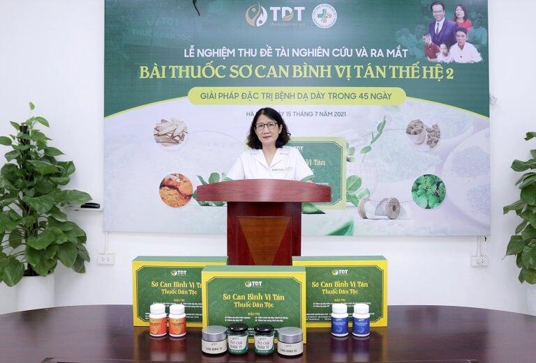 Bác sĩ Tuyết Lan công bố kết quả thử nghiệm